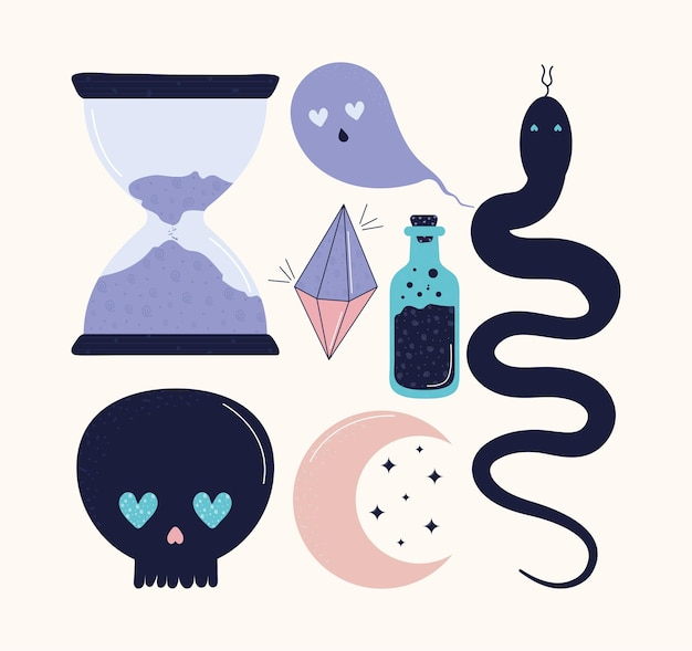 Sept objets magiques