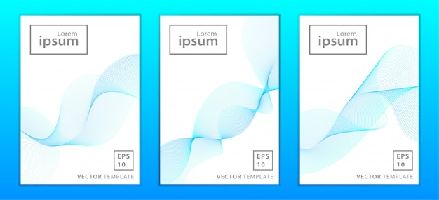 Série de brochure d'entreprise minimale