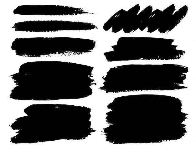 Série de coups de pinceau