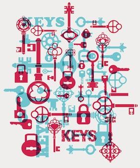 Serrures et clés