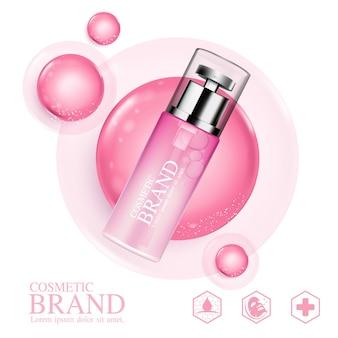 Sérum de collagène cosmétique de soins de la peau