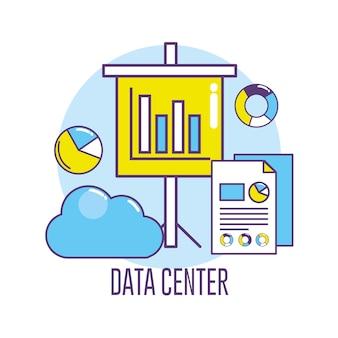 Serveur d'informations de connexion au centre de données