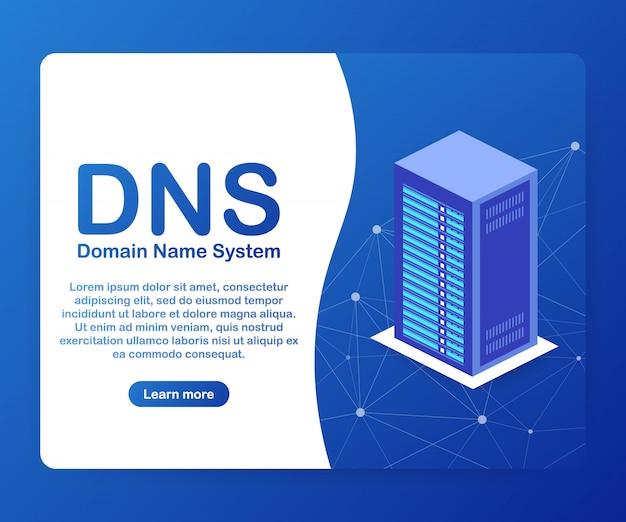 Serveur de système de noms de domaine dns.