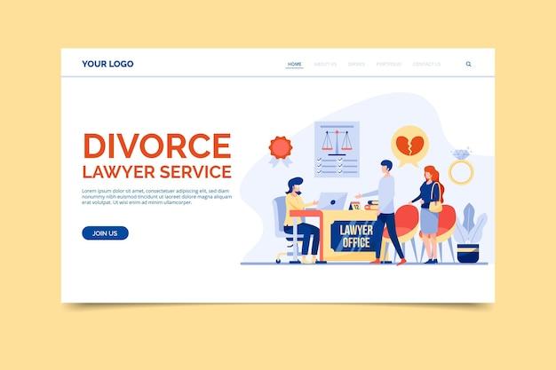 Service d'avocat en divorce