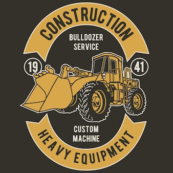 Service de bulldozer