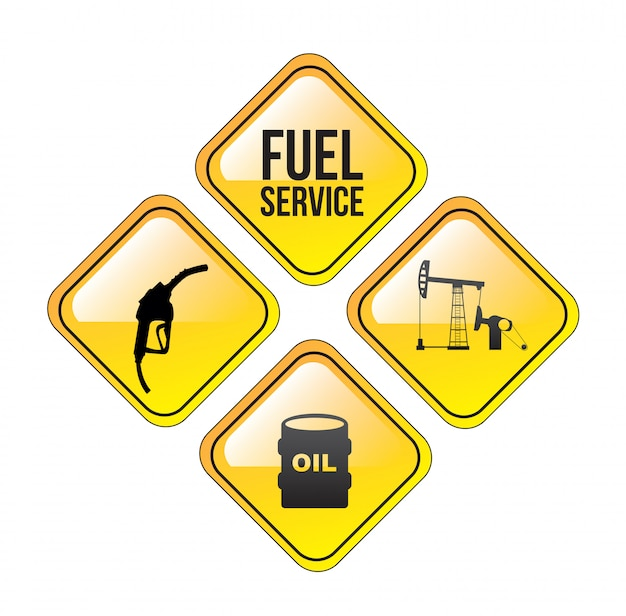 Service de carburant