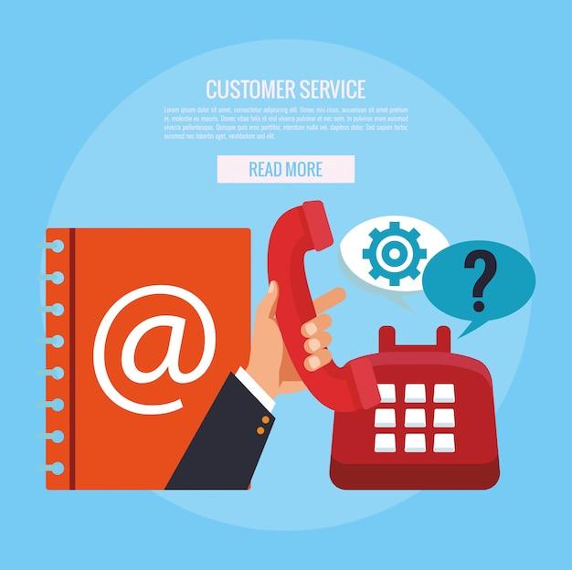 Service client et support