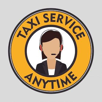 Service clientèle de taxi