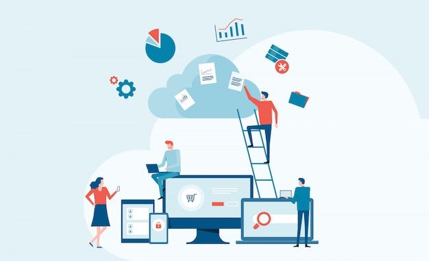 Service de cloud computing