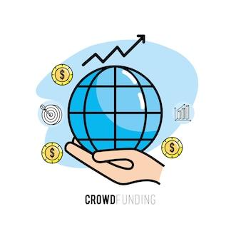 Service commercial d'assistance de projet de financement participatif