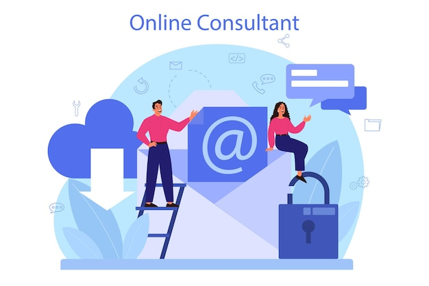 Service de conseil professionnel. recherche et recommandation. idée de gestion de stratégie et de dépannage. aidez les clients à résoudre des problèmes commerciaux.