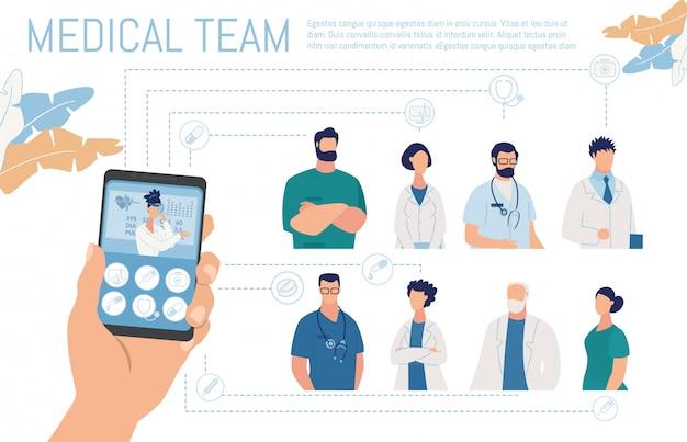 Service de diagnostic médical et de consultation en ligne