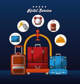 Service de l'hôtel