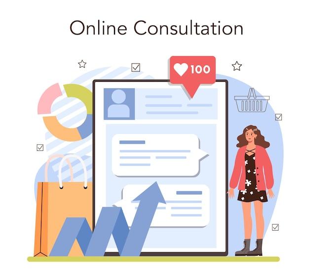 Service en ligne d'activités commerciales ou suivi d'entrepreneur de plate-forme