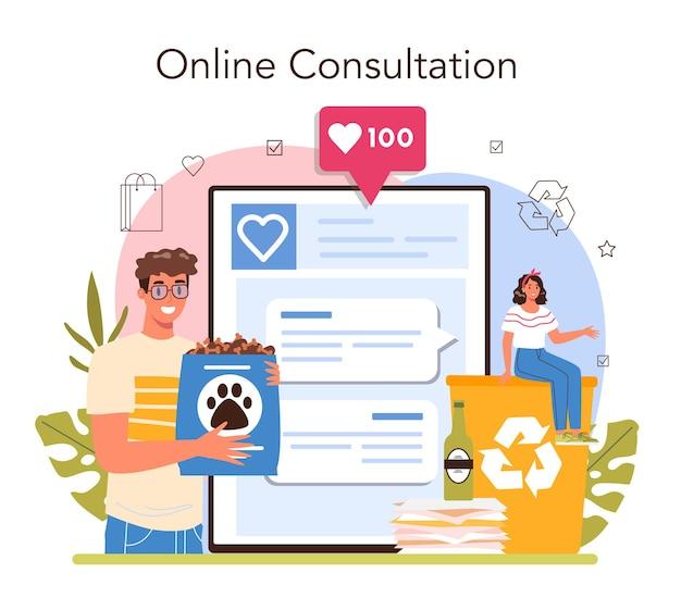 Service en ligne bénévole ou plateforme de soutien aux travailleurs sociaux anciens
