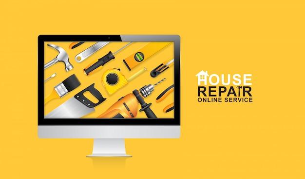 Service en ligne d'outils de construction