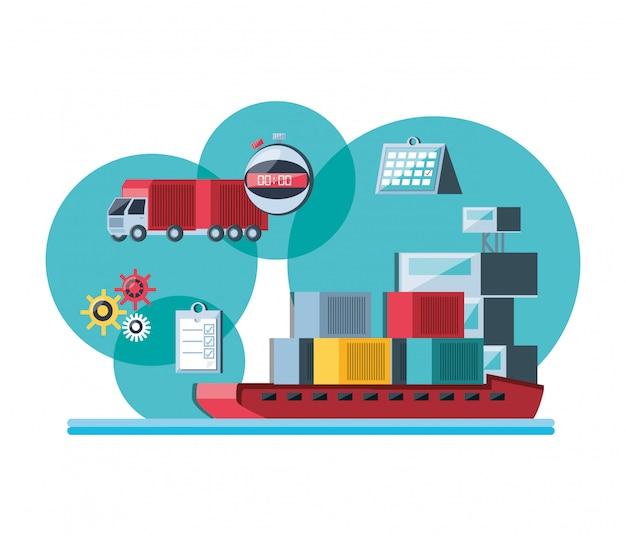 Service de livraison avec cargaison