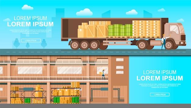 Service de livraison en entrepôt