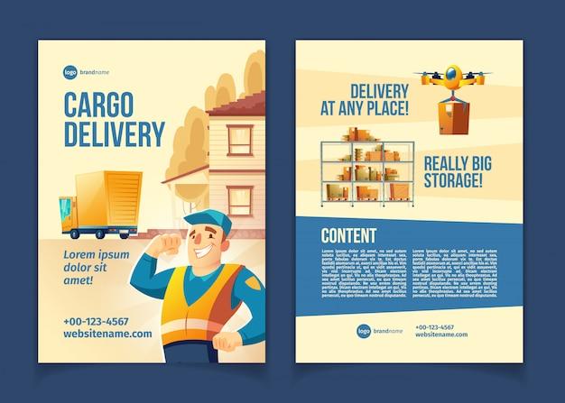 Service de livraison de marchandises