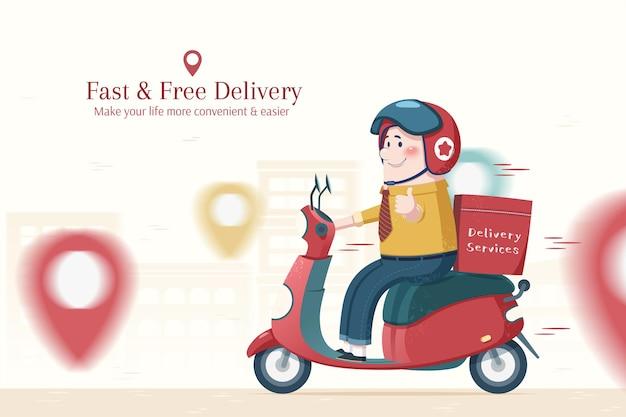 Service de livraison de nourriture