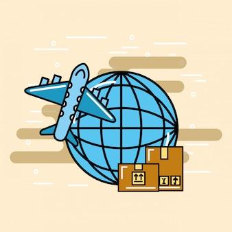 Service logistique et livraison