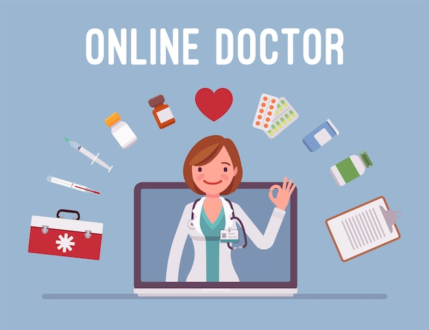 Service de médecin en ligne