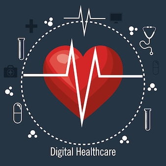 Service médical de cardiologie isolé