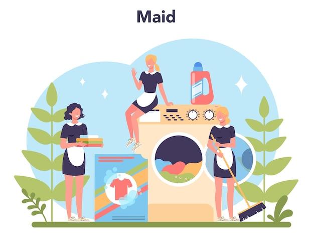 Service de ménage, service de nettoyage, nettoyage d'appartement