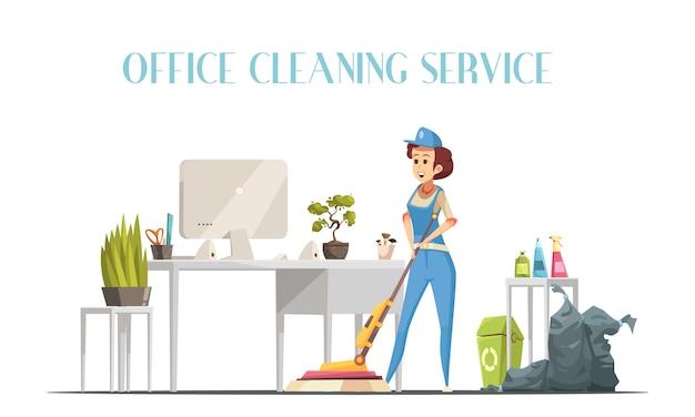 Service de nettoyage de bureau