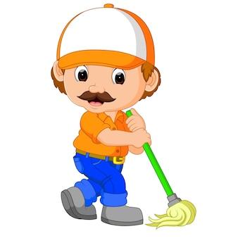 Service de nettoyage drôle