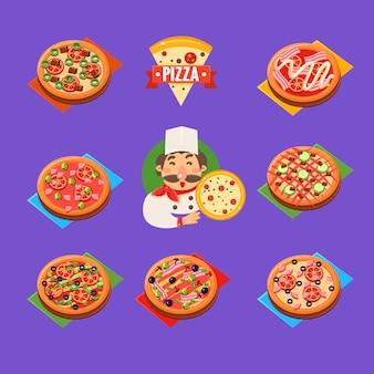 Service à pizza
