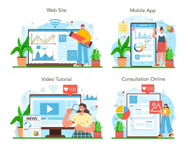 Service ou plate-forme en ligne de journalisme de données ou de journalisme axé sur les données