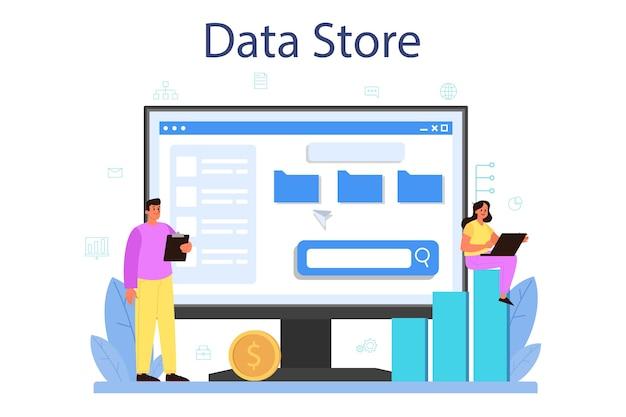 Service ou plateforme en ligne d'administrateur de base de données