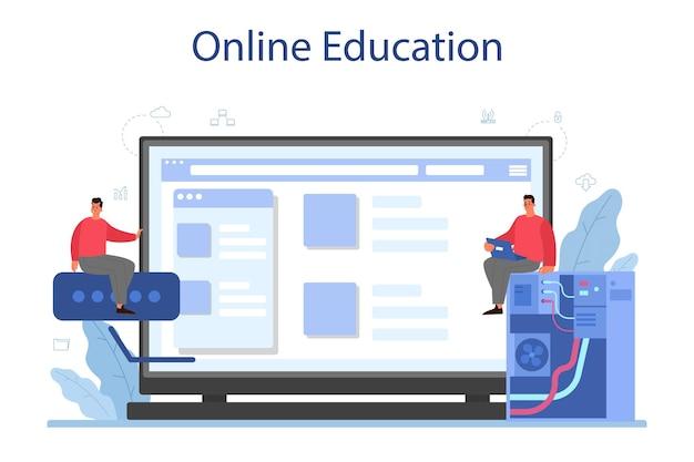 Service ou plateforme en ligne de l'administrateur système