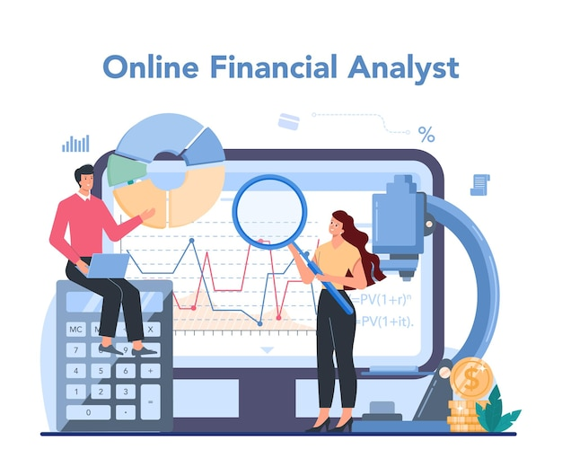 Service ou plateforme en ligne d'analyste financier