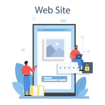 Service ou plateforme en ligne de développement d'applications mobiles