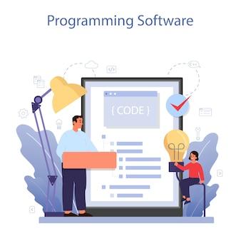 Service ou plateforme en ligne d'éducation informatique