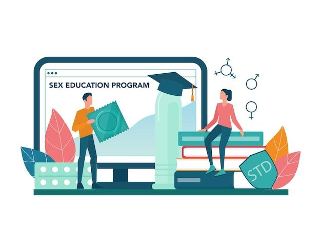 Service ou plateforme en ligne d'éducation sexuelle