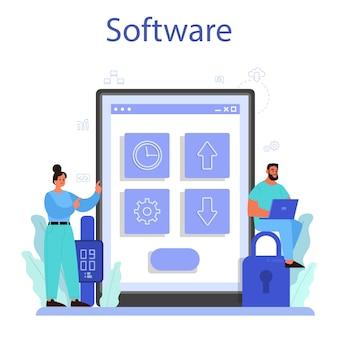 Service ou plateforme en ligne de l'internet des objets