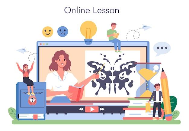 Service ou plateforme en ligne de psychologie