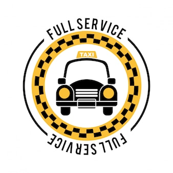 Service public sur illustration vectorielle fond blanc