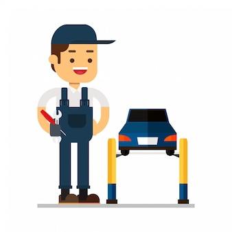 Service de réparation de voiture