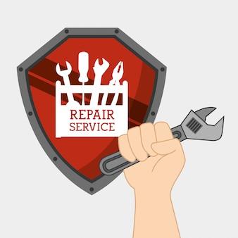 Service de réparation