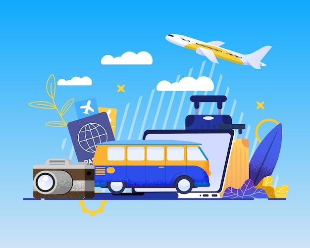 Service de réservation en ligne pour les meilleures vacances d'été