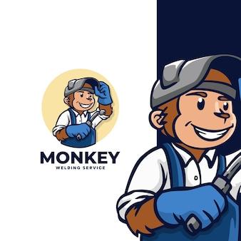 Service de soudure de singe