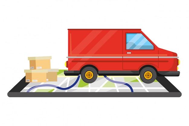 Service de suivi de la livraison