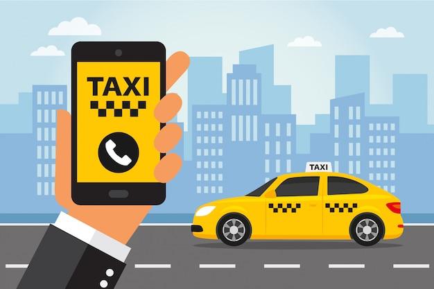 Service de taxi