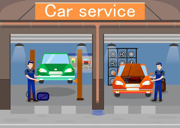 Service de voiture promotionnel