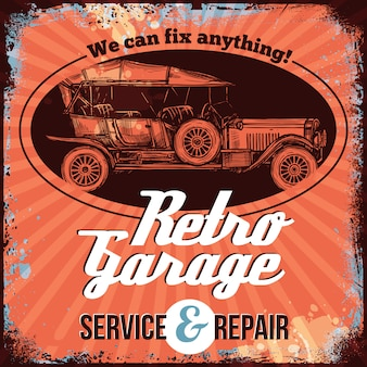 Service de voitures anciennes