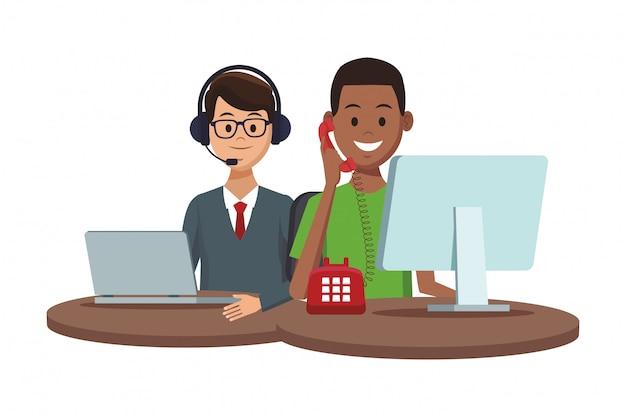 Services d'assistance aux clients
